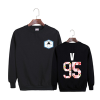 Sweatshirt KPOP Korean BTS 2th Album WINGS Bangtan Boys Hip Hop HipHop Monster Cotton Hoodies
