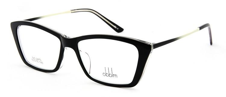 oculos de grau bk+beige
