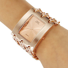 GLD y VDO Lujo Reloj Horloges Vrouwen Big Band Oro Rosa Relojes de Cuarzo Hombres Mujeres Wriatwatch Envío Gratis