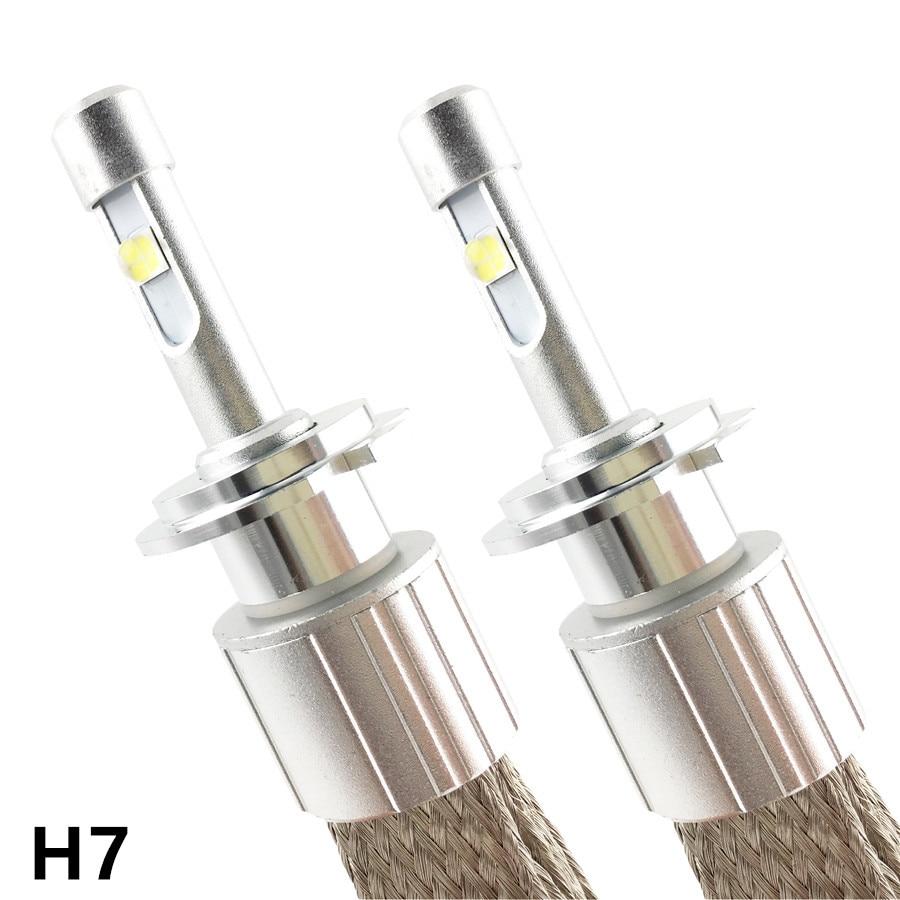 H1 H3 H4 H7 H8 H9 H11 HB3 HB4 9005 9006 9012 D2S Automobilové LED světlomety 96W 11520 Lumen Žárovka Konverzní souprava světlo Automobilová lampa