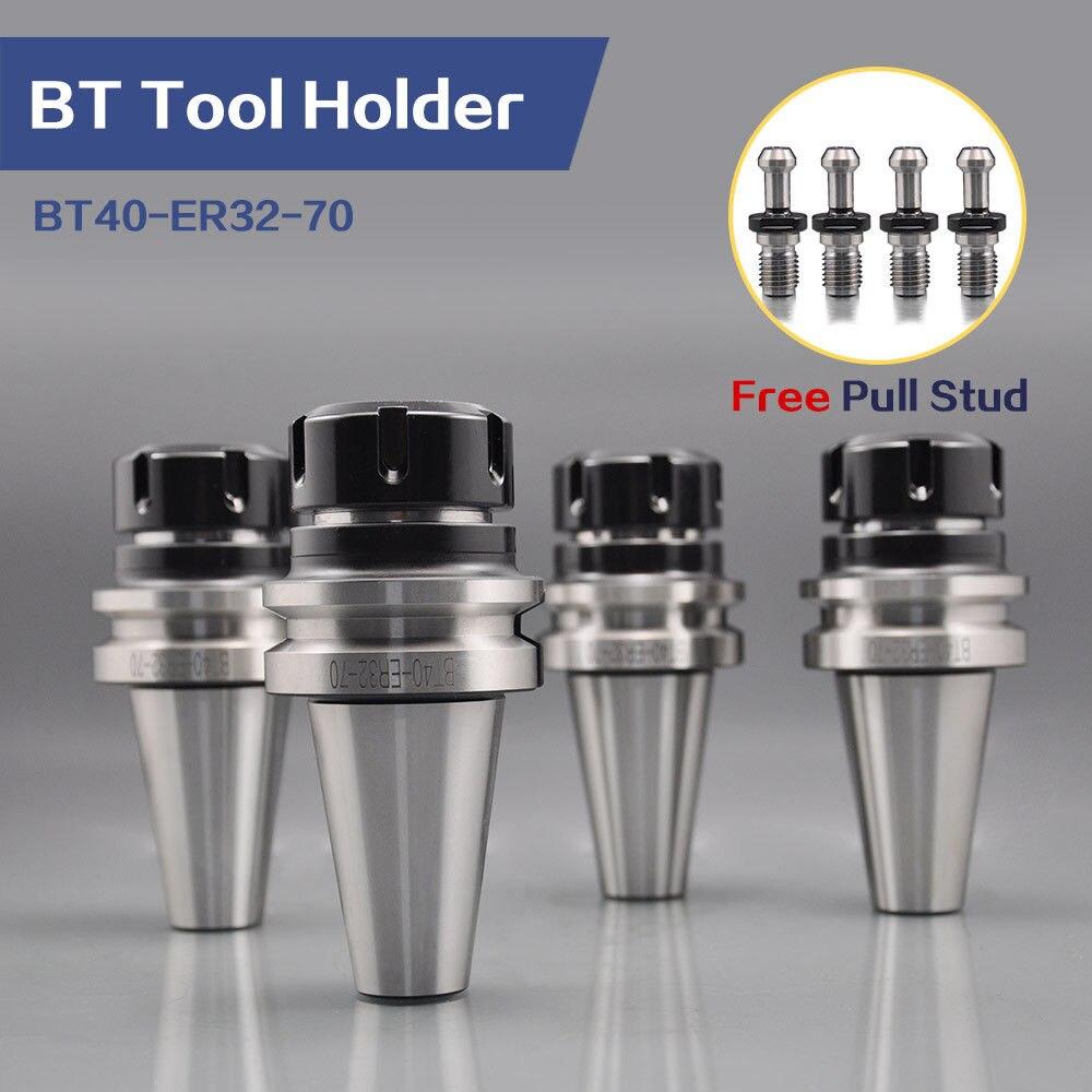 Купить с кэшбэком 4pcs BT tool holder BT40-ER32-70 AT3 standard