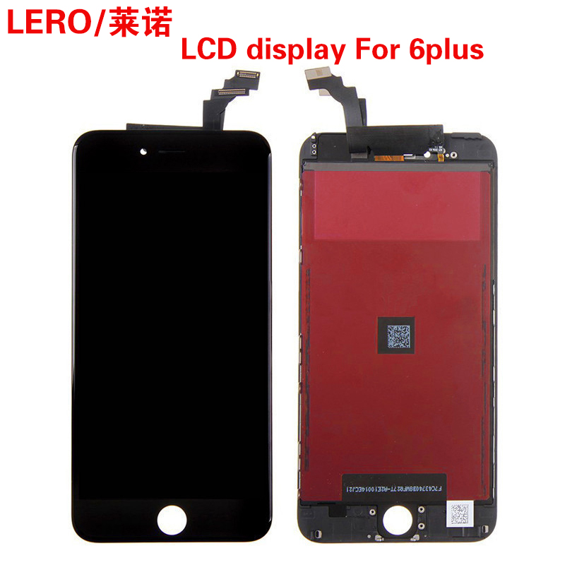 5PCS Grade AAA LCD Screen Display 5.5 inch For iPhone 6 Plus LCD Pantalla With Touch Screen Digitizer Assembly Free Ship grade a replacement lcd glass screen ecran touch display digitizer assembly for oppo r9 plus 6 0 inch white with free tool kit