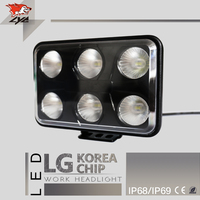 LYC Good Price Agricultural Equipment Lighting Offroad Led Lights 4x4 Light Truck Lamps For Tractors High