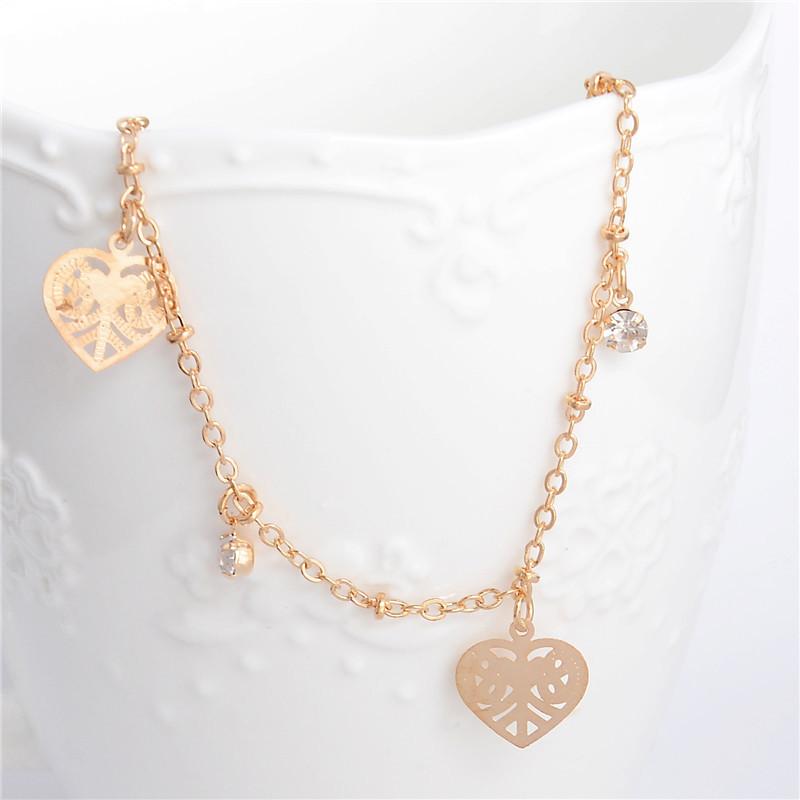 HTB1i6lRLpXXXXbqXXXXq6xXFXXXE Golden Foot Chain Jewelry Spirituality Ankle Bracelet For Women - 5 Styles