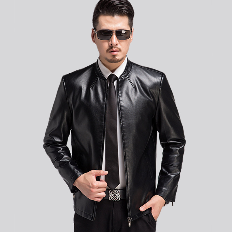 Top Quality Mens Leather Jackets And Coats 2017 Spring ...