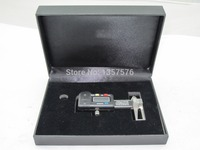 FREE SHIPPING 0 25mm gold digital dial gage,digital caliper,thickness ruler depth beads caliper with electronic digital readout