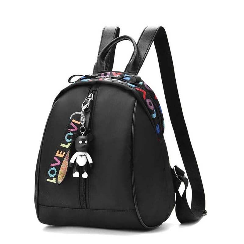 600960053ae5 BERAGHINI модные женские туфли рюкзак Оксфорд подростков Bagpacks для обувь  девочек Черная сумка дамы повседневное мини
