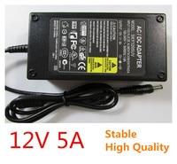 High Quality 12V 5A 100V 240V Converter Adapter DC 12V 5A 60W Power Supply DC 5