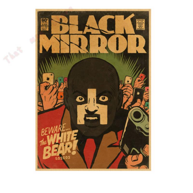 Black mirror BBC Season 1, 2 Hot TV Show Vintage Retro Poster ...