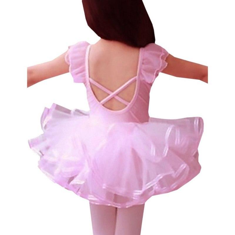 2018 Kant Ballet Dans Jurk Voor Meisjes Kinderfeest Ballet Tutu Jurk - Kinderkleding