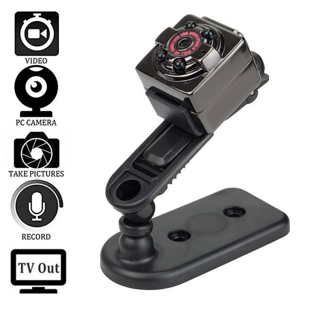 Mini Full HD Camera 1080P DV Sports IR Night Vision DVR Video Camcorder Spycam