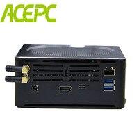 Кофе озеро 8th Gen Мини ПК Intel Core i7 8750 H i5 8300 H i7 6785R i9 8950HK Mini PC DDR4 M.2 SSD Intel UHD Графика DP HDMI WiFi