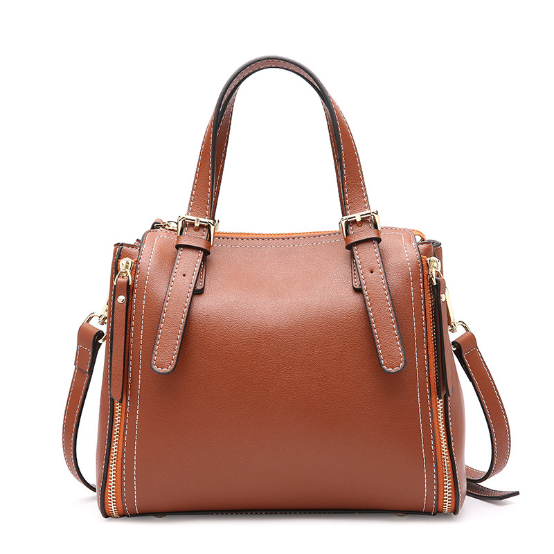 Real Cow Leather Ladies HandBags Women Genuine Leather Bags Totes Messenger Bags Hign Quality Designer Luxury Brand Bag mengxilu real cow leather ladies handbags women genuine leather bags totes messenger bags hign quality designer luxury brand bag