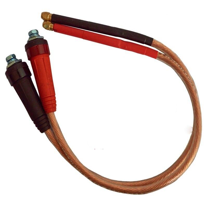 M Ausdrucksvoll 18650 Batterie Hand-gehalten Spot Schweißen Stift Rot/reinem Kupfer Diy Spot Maschine Schweißer Zubehör Stift-verwenden 3*100 Nadel 16/25/35 Sq Videospiele