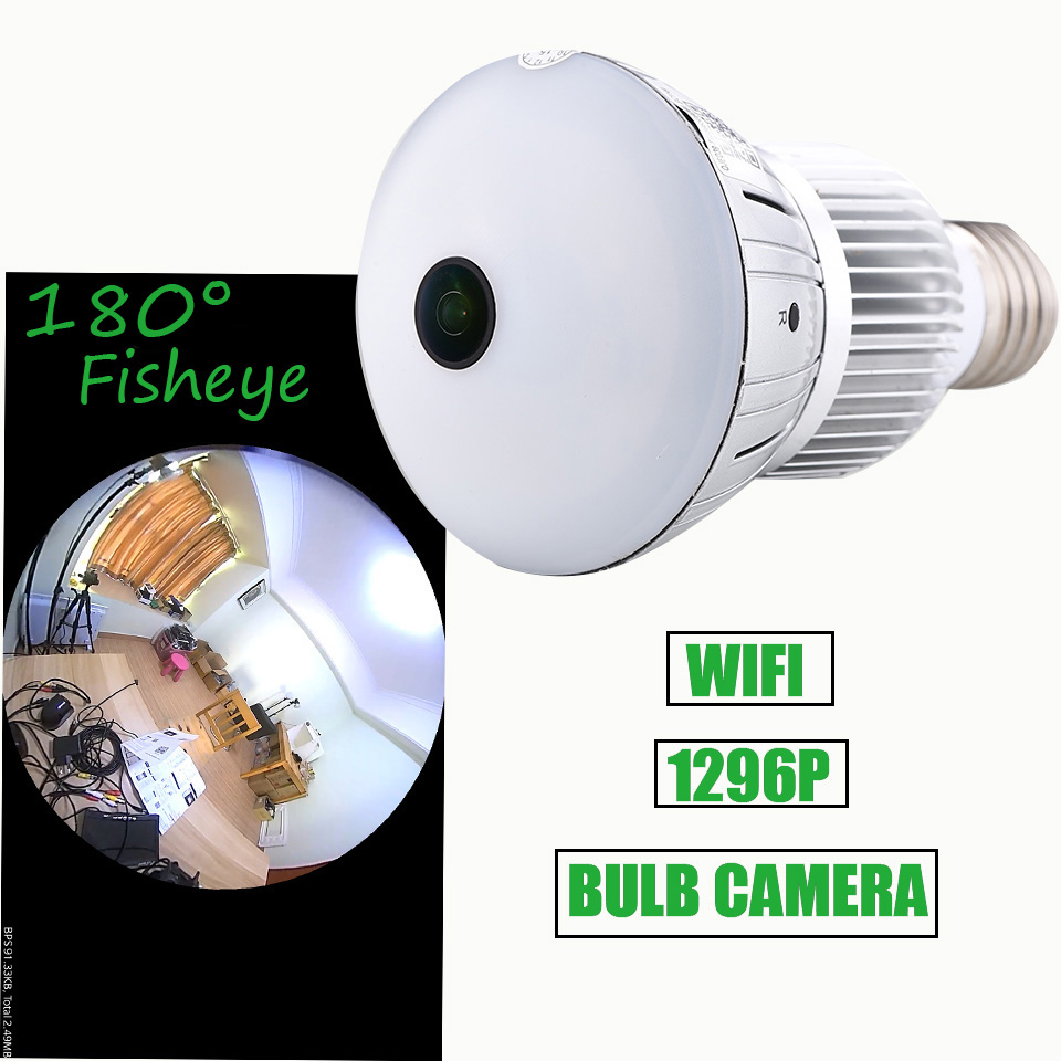 Q88 bulb WIFI  light camera 1296P 180 degree Automatic loop recording video Home security baby monitor Q88 bulb WIFI  light camera 1296P 180 degree Automatic loop recording video Home security baby monitor