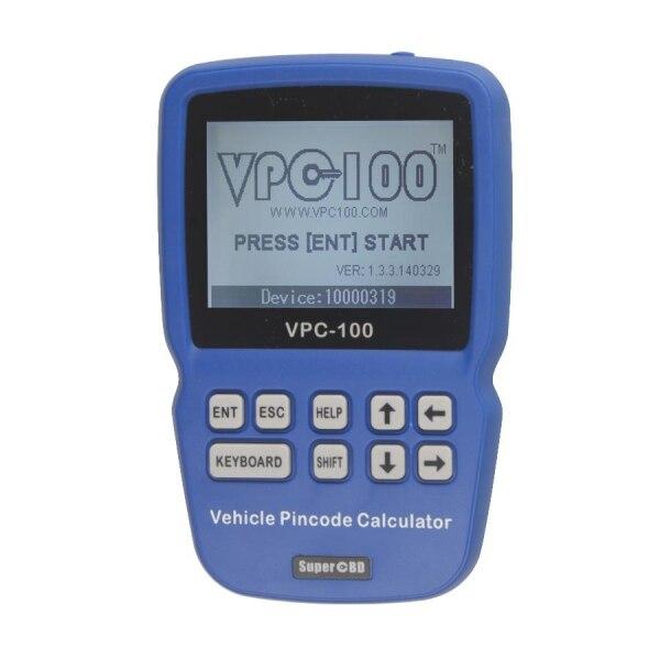 2017 новые vpc100 Булавки товара калькулятор VPC 100 ручные автомобиль Булавки товара Calculator (с 300 жетонов) VPC 100 для всех автомобилей