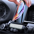 Универсальный смартфон держатель на вентиляционное отверстие автомобиля держатель для Audi A3 A4 B6 B8 A6 C6 80 B5 B7 A5 Q5 Q7 TT 8P 100 A1 S3 Q3 A8 гибкие чехлы из т...