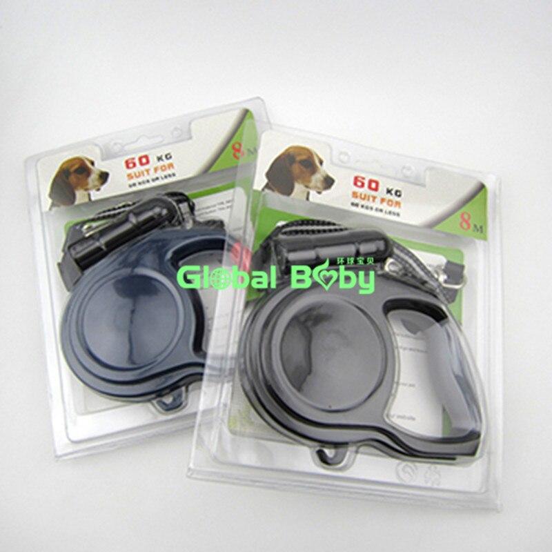 Új ABS anyag 5M / 8M hosszúságú behúzható pórázok Nagy kutya - Pet termékek - Fénykép 2