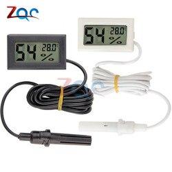 Цифровой мини-термометр с ЖК-дисплеем, гигрометр, измеритель температуры и влажности, приборы для измерения влажности внутри помещения