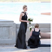 Custom Made Dress To Party Halter A line Wedding Ceremony Gowns Pleat Draped Chiffon Long Dress Teal Bridesmaid Dresses