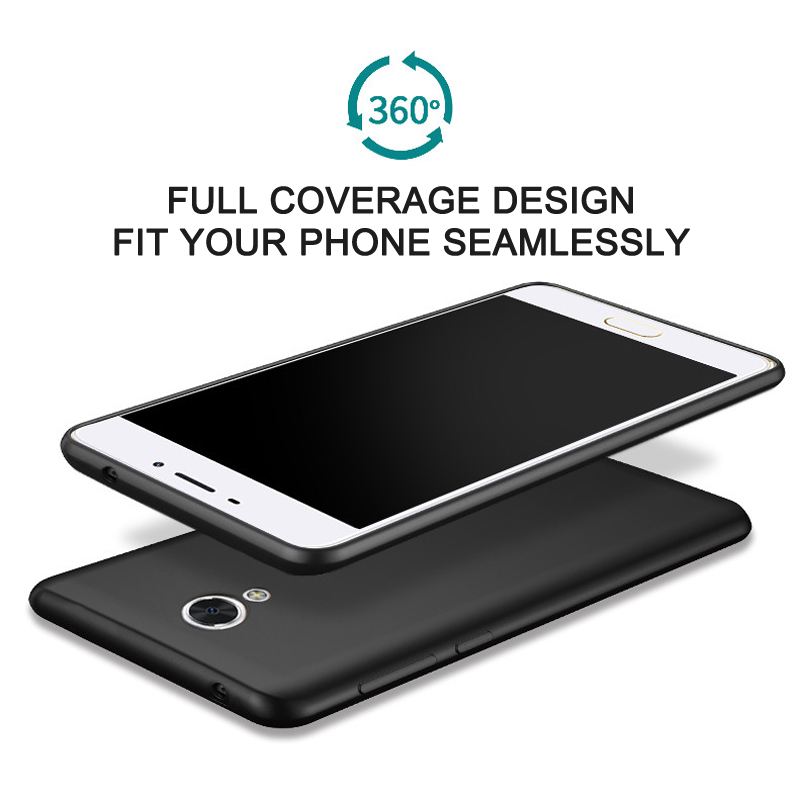 Meizu m5s Kasus Mewah Matte Shockproof Meizu m5c Kasus Silikon - Aksesori dan suku cadang ponsel - Foto 2