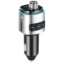 FM передатчик быстрой зарядки QC3.0 автомобильное зарядное устройство MP3 U диска/TF карты музыкальный плеер приемник с Bluetooth и системой «Хендс-фри» для