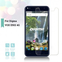 2.5D 0.26mm Ultra Thin Tempered Glass Digma VOX E502 4G Toughened Screen Protector Film Protective Screen Case Universal чехол для сотового телефона digma vox e502 4g