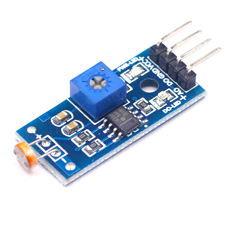 Photosensitive Brightness Resistance Sensor Module Light Intensity Detect New For Arduino