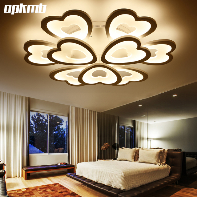 Modern Living Room Ceiling Lamps DIY Heard Style Led Ceiling Light Children Room  Bedroom Light Indoor