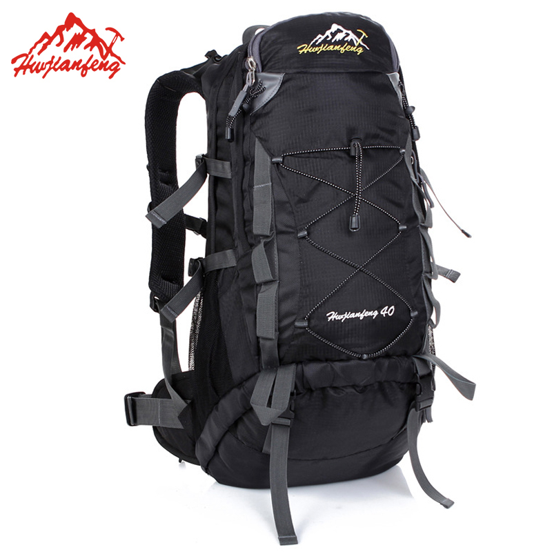... Backpacks For Hiking Camping Climbing · 40L Outdoor Bags Waterproof  Sports Bag Wear-resistant Hiking Backpack Men Women Bag Sport Bags 45d7945c48ba7
