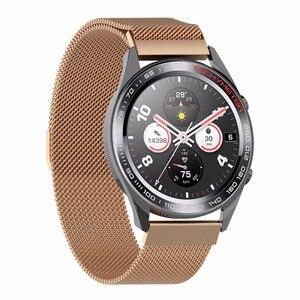 Image 4 - Replacement Metal Watchband Watch Band for Huawei Magic/Watch GT/Ticwatch Pro watch strap for huawei ticwatch