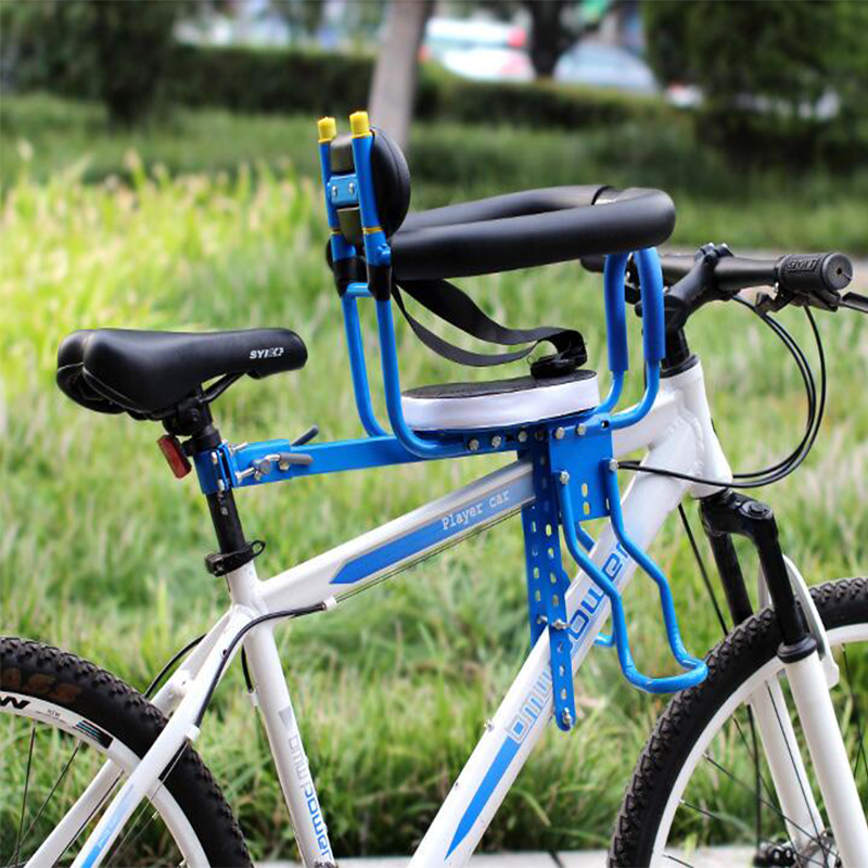 Children's Mountain Bike Road Bike Safety Chairs Fit Before and After Installation