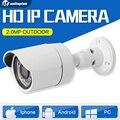 2-МЕГАПИКСЕЛЬНАЯ HD 1080 P Пули CCTV Камеры IP Открытый 3.6 мм Объектив 24 Шт. светодиодов Водонепроницаемый Сетевой Безопасности ИК 20 м Onvif P2P Облако Легко Посетить