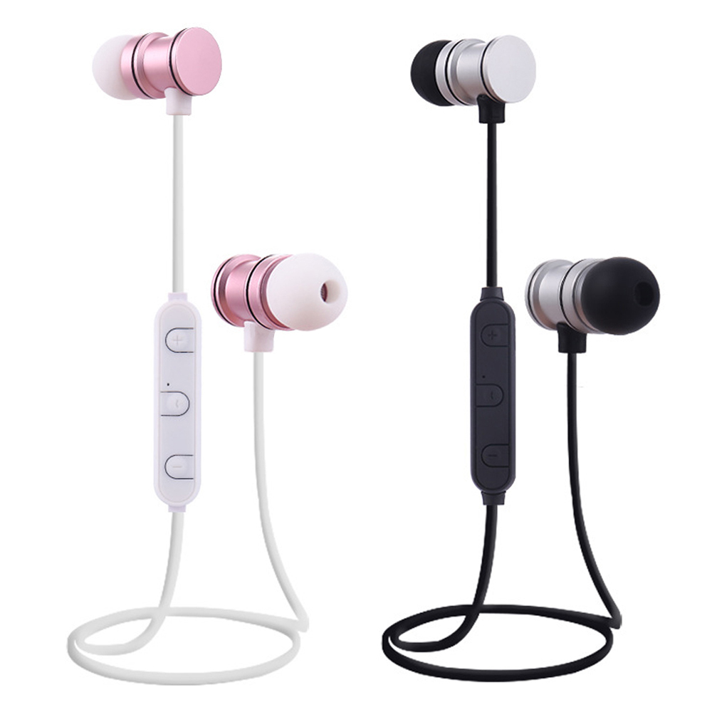 qijiagu Wireless Bluetooth Earphones Noise Canceling With Mic Sport Bluetooth Headsets in Bluetooth Earphones Headphones from Consumer Electronics
