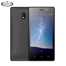 "Original Telefon SERVO W580 4,5 ""MTK6580M Quad Core 1,3 GHz Android 7.0 Smartphone ROM 4 GB Kamera 5.0MP GPS GSM WCDMA Handys"