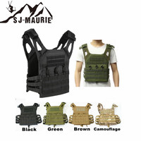 SJ MAURIE 800D Hunting Tactical Vest Military Molle Plate Carrier Airsoft Paintball CS Outdoor Protective Lightweight JPC Vest