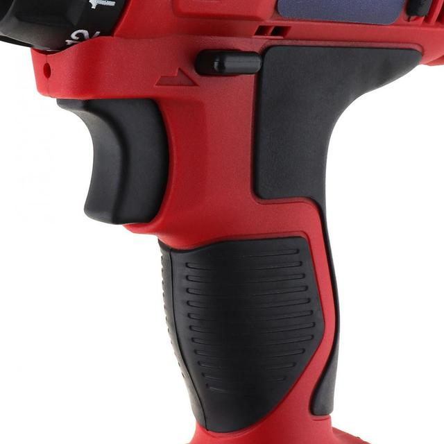 AC 100 - 240V Cordless 12V Electric Drill / Screwdriver with 18 Gear Torque and Two-speed Adjustment for Screws / Punching 5