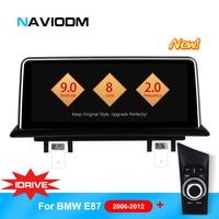 Android 9.0 8 Core Car Multimedia Player Auto Car DVD Navigation For BMW E87 E82 E81 E88 1 series with idrive car DVD player