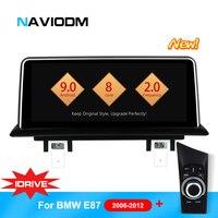 Android 9,0 8 ядерный автомобильный мультимедийный плеер DVD GPS навигация для BMW E87 E82 E81 E88 1 серии с idrive автомобильный DVD плеер