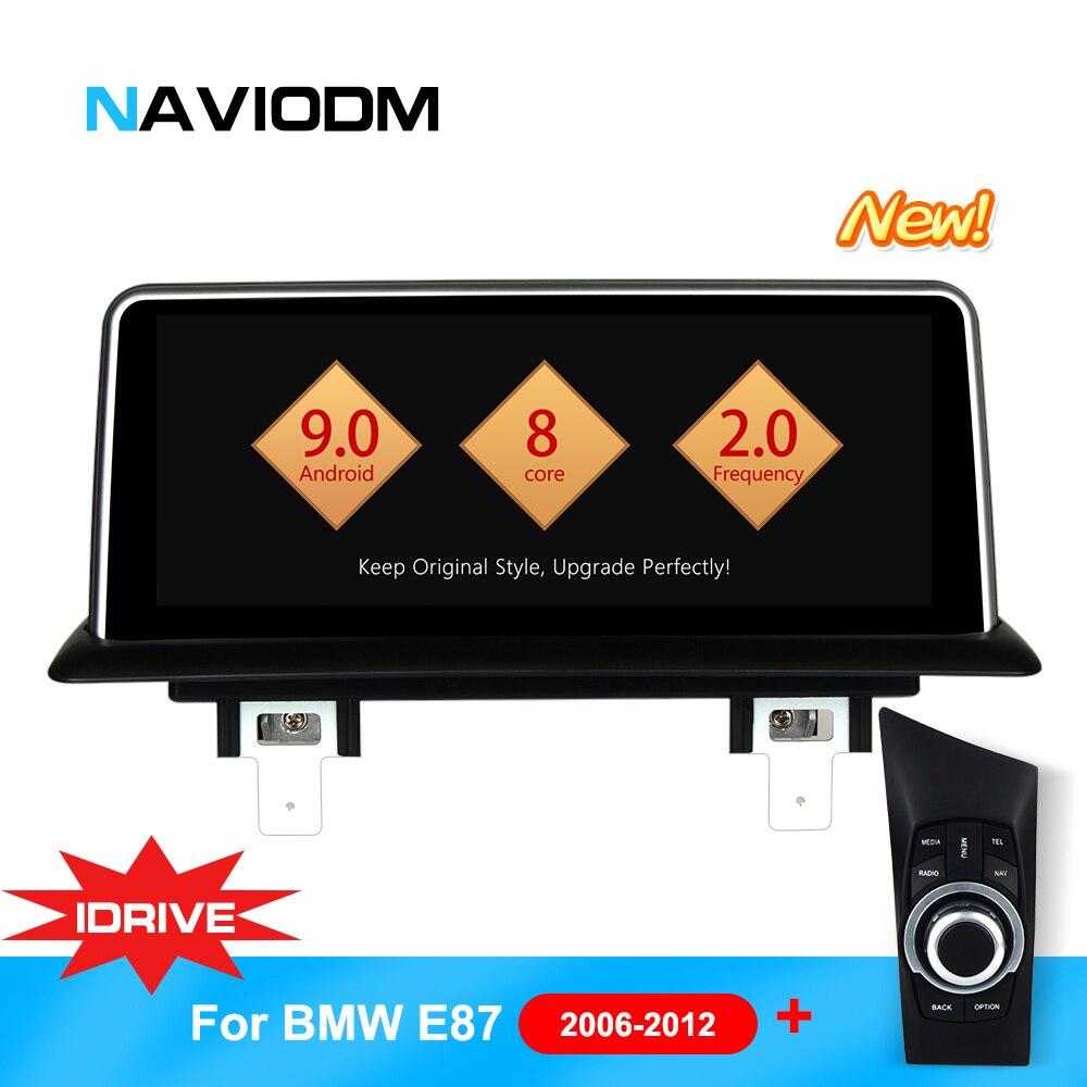 Android 9.0 8 Core Lecteur Multimédia De Voiture Auto Voiture DVD de Navigation Pour BMW E87 E82 E81 E88 série 1 avec idrive lecteur DVD de voiture