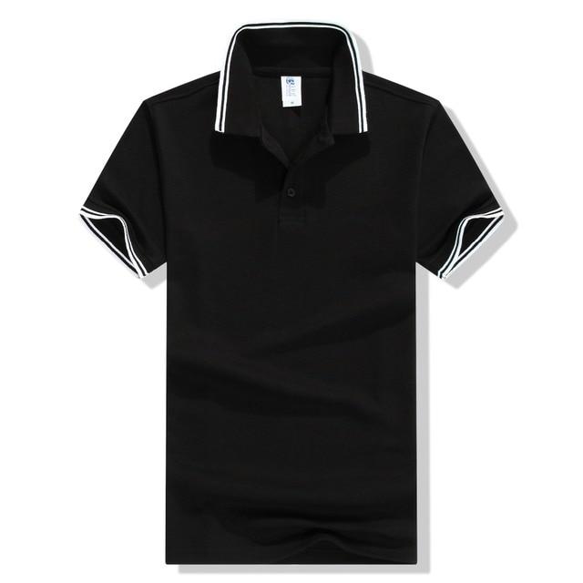 2016 Nueva Moda Camisetas de Manga Corta cuello Vuelto Polo Masculinas Verano Camisa de Polo de Los Hombres Ocasionales de 13 Colores Más El Tamaño S-3XL