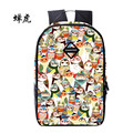 Fashion Women Owl Bag Backpack For Girls School Bags Floral Printing Casual Backpacks High Quality Bag