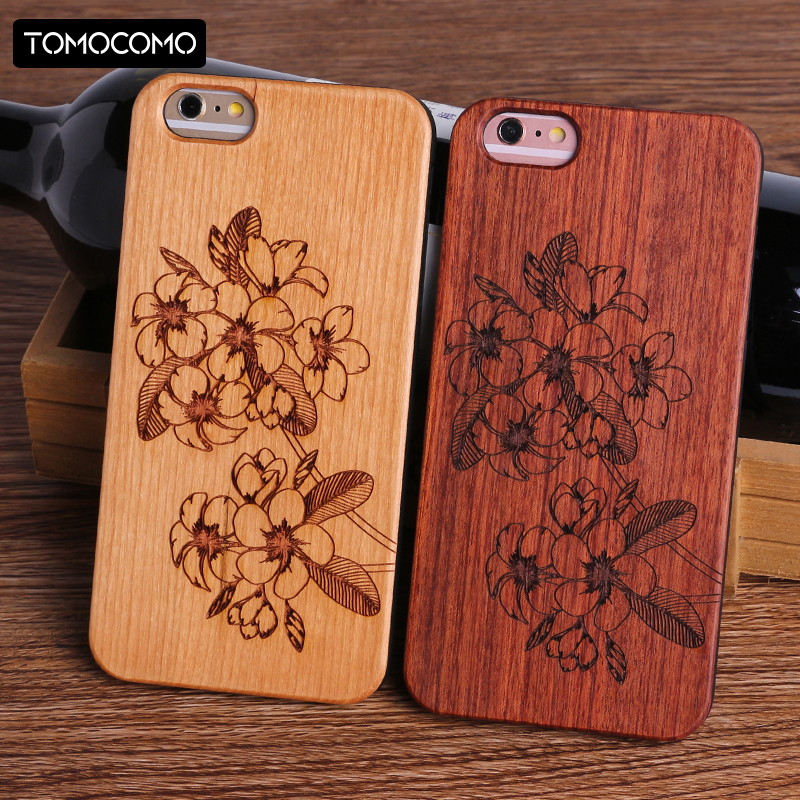 TOMOCOMO Dollar Money Floral Music Smile Happy Real Wood Phone Case For iPhone6 6Plus 7 7Plus 8 8Plus X SAMSUNG S8 S9 S9 Plus