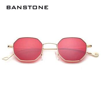 BANSTONE 2017 Luxury Brand Womens Sunglasses Gold Frame Square Mens Sunglasses Vintage Eyewear Frames Clear Glasses Lunettes фото