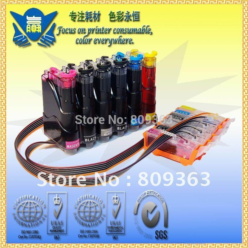 (Pgi-525 Cli-526 Use In Europe) Ciss Steady Ink Provide System For Canon Pixma Ip4850 Mg5150 Mg5250 Free Transport By Dhl