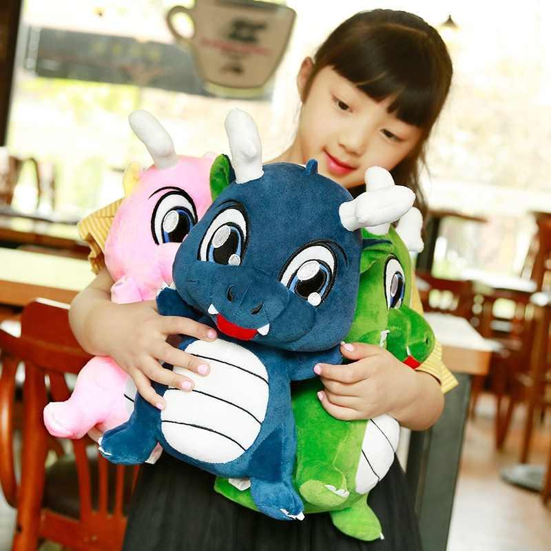 Горячая 30 см красочные плюшевые игрушки динозавры мягкая подушка мультфильм куклы дети день рождения подарок Рождественский подарок домашний декор