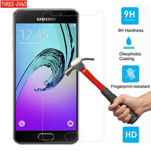 Tempered Glass Screen Protector For Samsung Galaxy A3 A5 A7 A9 J3 J4 J5 J6 J7 2016 2017 Prime S3 S4 S5 S6 S7 S8 Protective Film