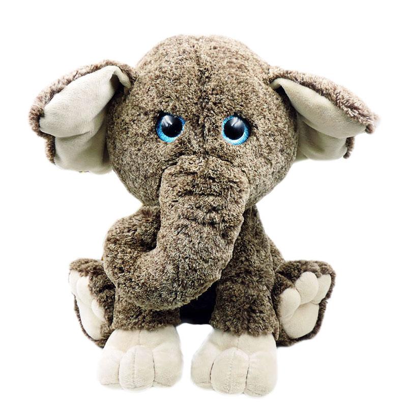 45cm High Quality Large Elephant Plush Dolls Stuffed
