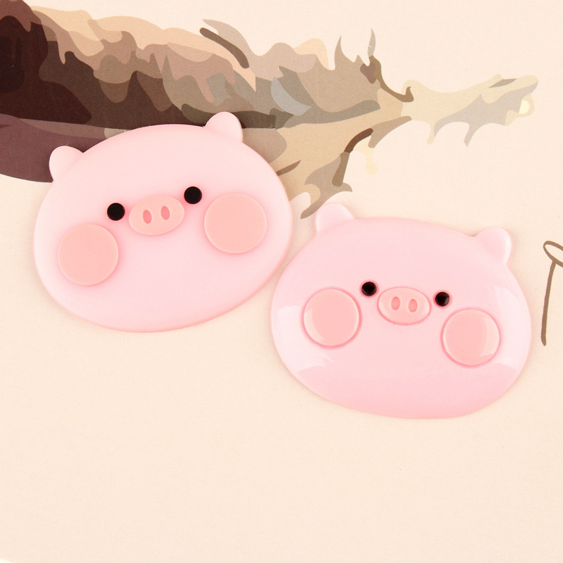 5pcs lot Silica gel Resin piggy Decoration Crafts Kawaii Flatback Cabochon Embellishments For Scrapbooking DIY AccessoriesButto in Modeling Clay from Toys Hobbies