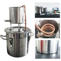 3Gal/12L Home Alcohol Making Beer DIY Moonshine Distiller for Vodka Making